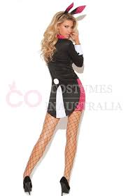 ladies bunny playboy fancy dress costume