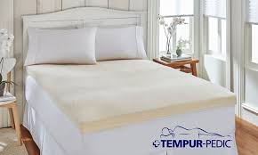 Tempur Duvet Closeout U2013 Tempur Pedic Memory Foam Mattress Topper Groupon