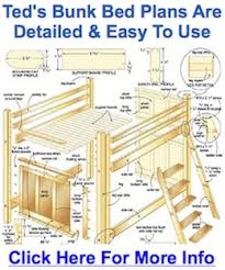 The Exact Bunk Bed Plans I Used To Build Mine In  Days - Make bunk beds