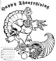 happy thanksgiving coloring page christmas coloring pictures