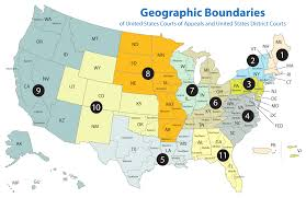 Map If Us About U S Federal Courts