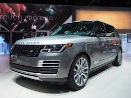 luxury range rover 200k range rover and 500 hp land rover discovery at the l a auto