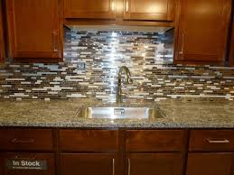 kitchen granite with backsplash mac s solarius countertop autumn