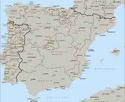Asturias Spain Map by Laern Spain