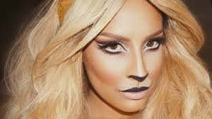 simple cat makeup halloween lion halloween makeup desi perkins youtube