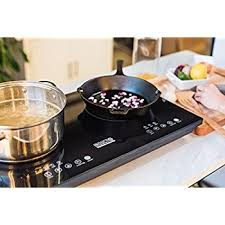 Electromagnetic Cooktop Amazon Com Ovente Induction Cooktop Burner Cool Touch Portable