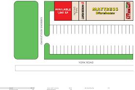 cockeysville md york village shopping center retail space for