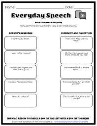 keep a conversation going everyday speech everyday speech