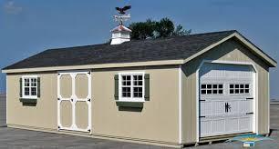 1 car prefab garage one car garage horizon structures