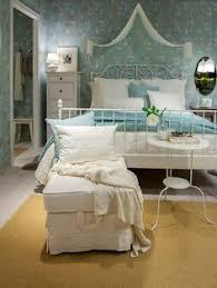 amazon com ikea leirvik bed frame white full size iron metal