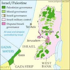 political map of israel explainer is jerusalem the capital of israel or not political