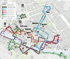 Florence Italy Map Florence City Center Bus Map Maplets