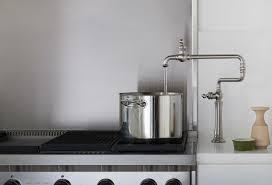Kohler Purist Kitchen Faucet by Kohler Artifacts Single Hole Deck Mount Pot Filler Kitchen Sink