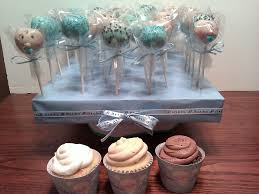 it u0027s a boy baby shower cupcake and cake pops cakecentral com