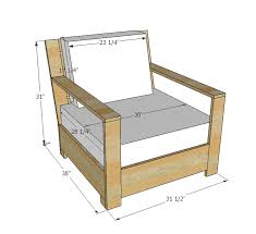 Plans For Wood Deck Chairs by Ana White Build A Bristol Outdoor Lounge Chair Free And Easy