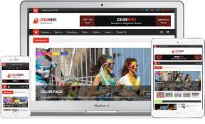 xperia theme creator kullanimi colornews free magazine style responsive wordpress theme 2018