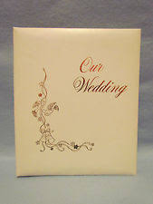 wedding memory book wedding memory book ebay
