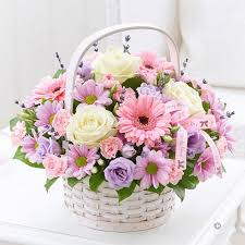 s day flower arrangements mothers day basket flowers by zoe middlesex