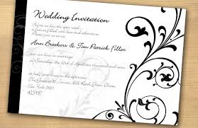 wedding invitations black and white black and white wedding invitations wedding corners
