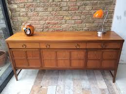 gorgeous nathan retro vintage danish teak sideboard in fantastic
