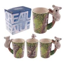 koala mug shaped handle amazon co uk kitchen u0026 home