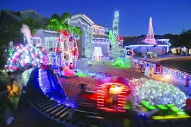 all aboard the santa train attraction lights up community helps