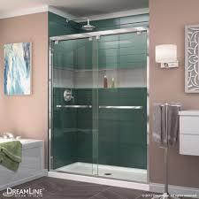 Large Shower Doors Encore Bypass Sliding Shower Door Dreamline