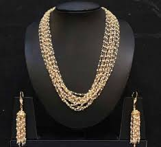 fashion pearl necklace set images Micro pearl necklace set at rs 3200 no moti ka kanthhaar moti jpg