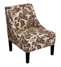 Accent Wingback Chairs Furniture Accent Wingback Chairs Striped Wingback Chair Burnt