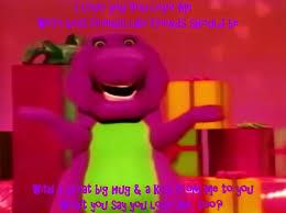 Barney Meme - barney s i love you meme by bestbarneyfan on deviantart