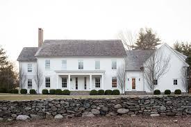 modern home design new england a modernized version of a new england farmhouse in connecticut