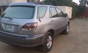lexus rx300 for sale in nigeria a nigerian used 2002 model lexus rx300 full optionss for sale