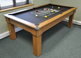 Peter Vitalie Pool Tables Dining Pool Table Combo Kobe Table - Combination pool table dining room table