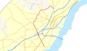 Ferris State University Map by Delaware Route 141 Wikipedia