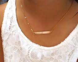 necklaces with children s names kids name necklace etsy