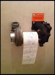 cave bathroom ideas garage turbo toilet paper holder definitely going in the cave