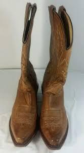 womens boots size 11n lavorazione artigiana brown genuine leather ankle boots s size