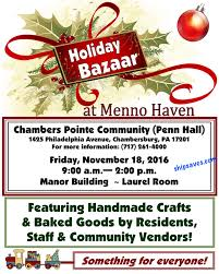 2016 craft fairs u0026 holiday bazaars in carlisle shippensburg