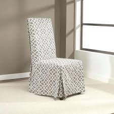 Windsor Chair Slipcovers Sure Fit Short Dining Room Chair Cover Stretch Slipcover Soft