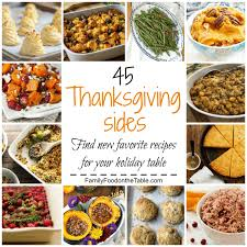 45 thanksgiving side dishes recipe up family food on the