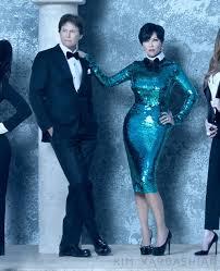 kardashian family 2011 christmas card bruce and kris jenner