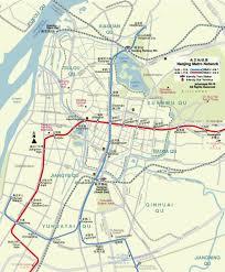 Shanghai Metro Map In Chinese by Nanjing Travel Maps 2010 2011 Printable Metro Subway And