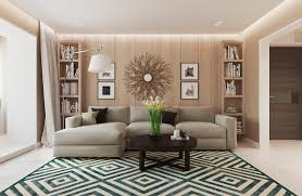 Warm Modern Interior Design - Modern home interior design pictures