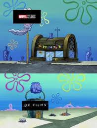 Meme Vs Meme - spongebob squarepants krusty krab vs chum bucket meme goes viral