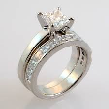 custom wedding rings 15 ideas of custom wedding bands to fit engagement ring