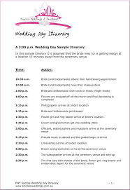 wedding agenda templates birthday itinerary template mughals