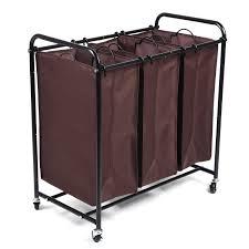 Heavy Duty Laundry Hamper by 3 Bag Laundry Sorter Maidmax Heavy Duty Rolling Laundry Sorter