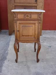 Antique Nightstands With Marble Top The Most Incredible Marble Top Side Table Antique Gallery Side