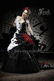 brautkleider rot weiãÿ extravagante brautmode schwarze brautkleider schwarz weiße und