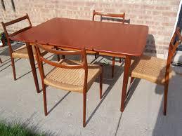 Teak Wood Dining Chairs Teak Dining Room Idea